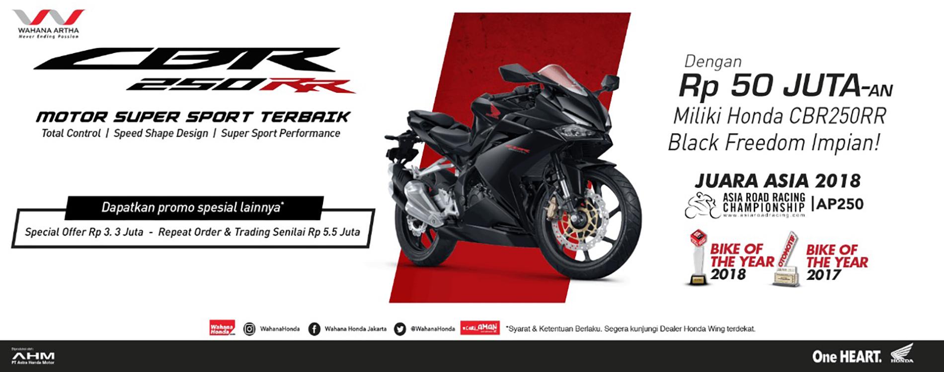 Daftar Promo Terbaru Motor Honda | Wahana Honda