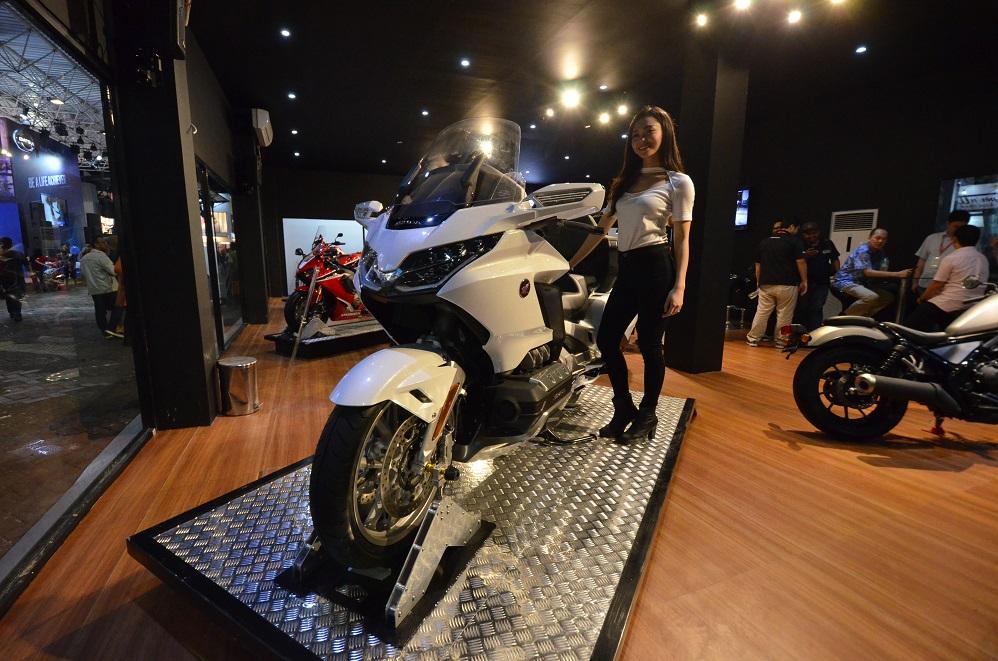 Baru Buka, Pengunjung Langsung Padati Booth Honda
