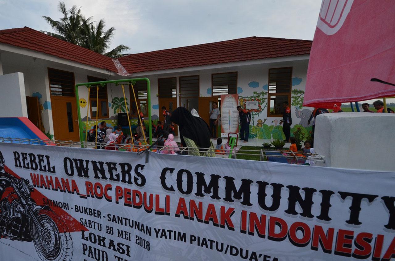 Rebel Owners Community, Bakti Sosial Di Bulan Penuh Berkah