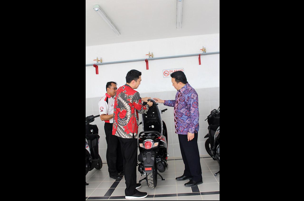 Jaga Distribusi Unit, Wahana Bangun Gudang Kapasitas 7.000 Unit