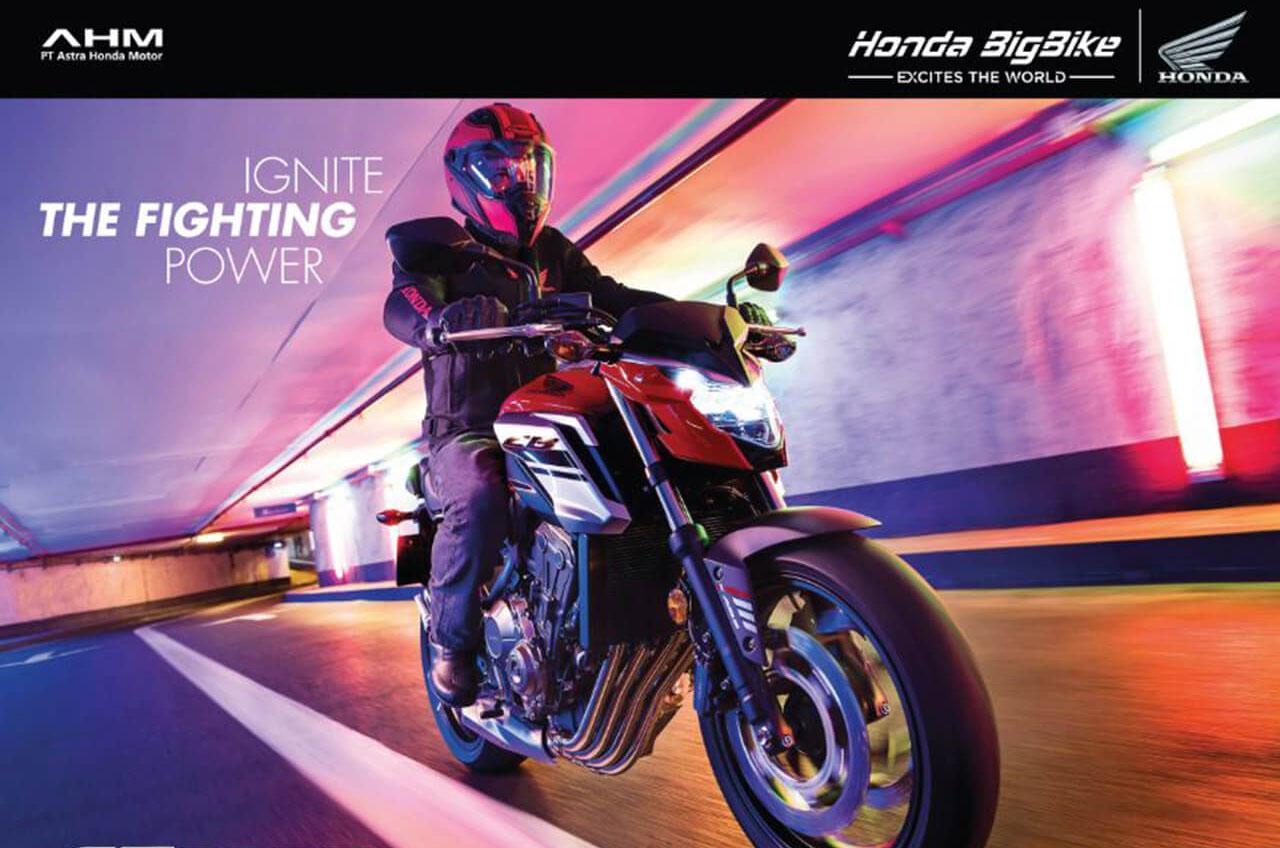 Jajaran Big Bike Honda Hadir Semakin Gagah Dan Sporti