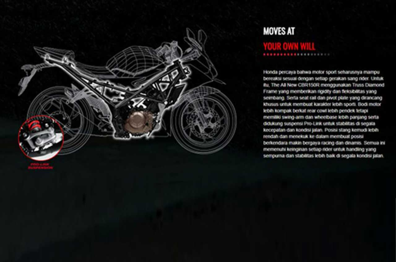 Enam Alasan Untuk Memilih Honda CBR 150R