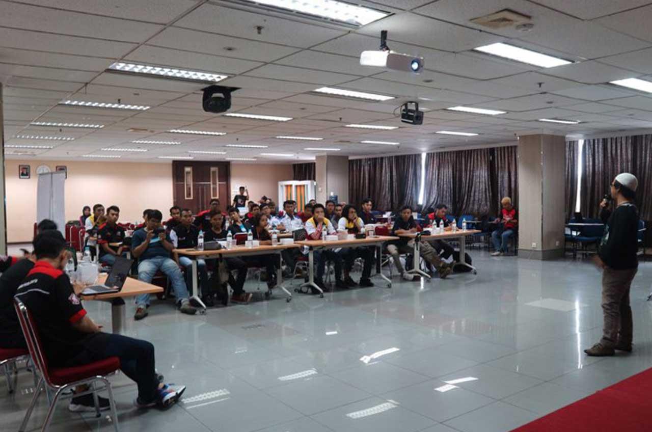 Komunitas Honda Belajar Ilmu Jurnalistik