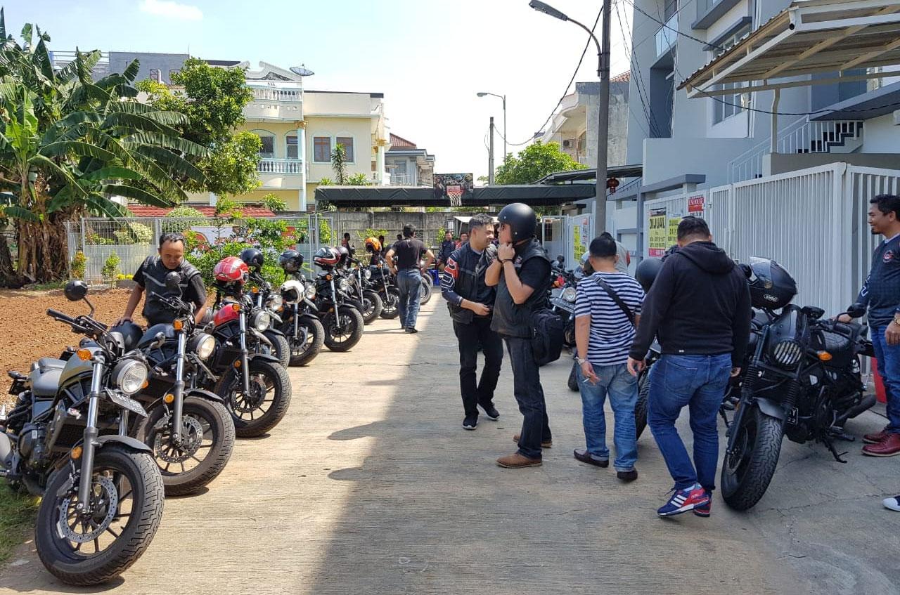 Halal Bihalal Ala Komunitas Honda Rebel