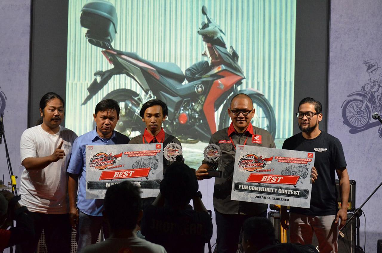 Honda Modif Contest 2018 Seri Jakarta  Ajang Unjuk Kreatifitas Modifikator Jakarta Dan Tangerang