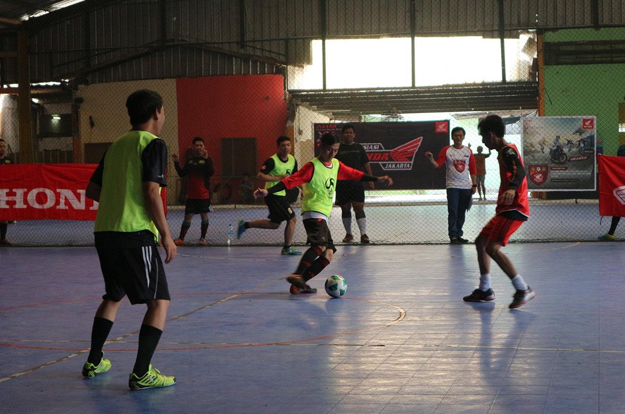 Biar Sehat, Wahana Ajak Komunitas Adu Futsal