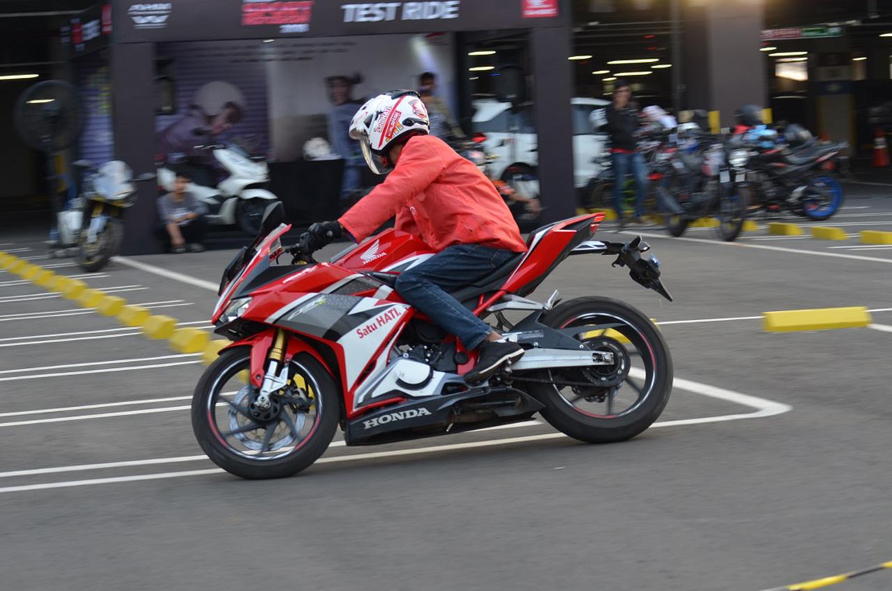 Lagi, Wahana 'Pamer' Jajaran Produk Sport Honda