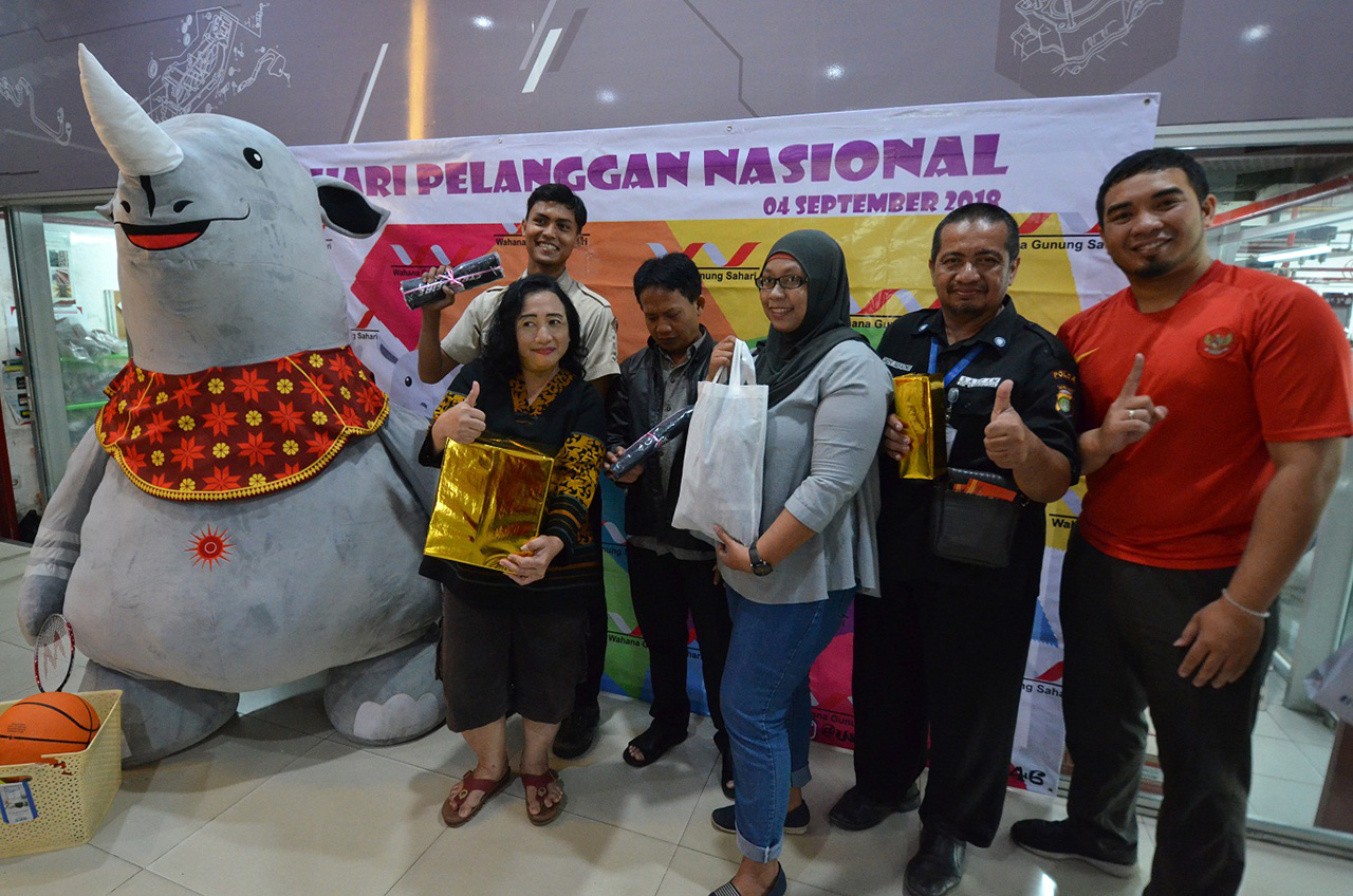 Asian Games Di Hari Pelanggan Nasional Wahana