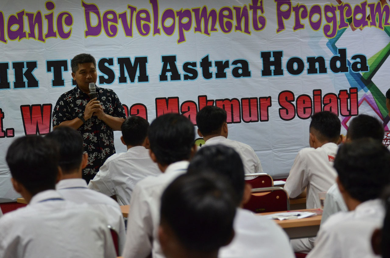 Wahana Buka Peluang Lulusan SMK Langsung Kerja