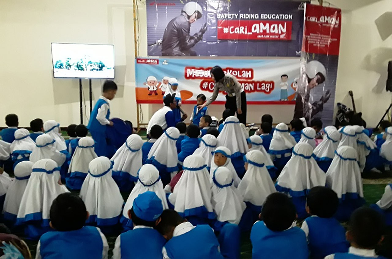 Edukasi Safety Riding 'Gas' Di Awal Tahun