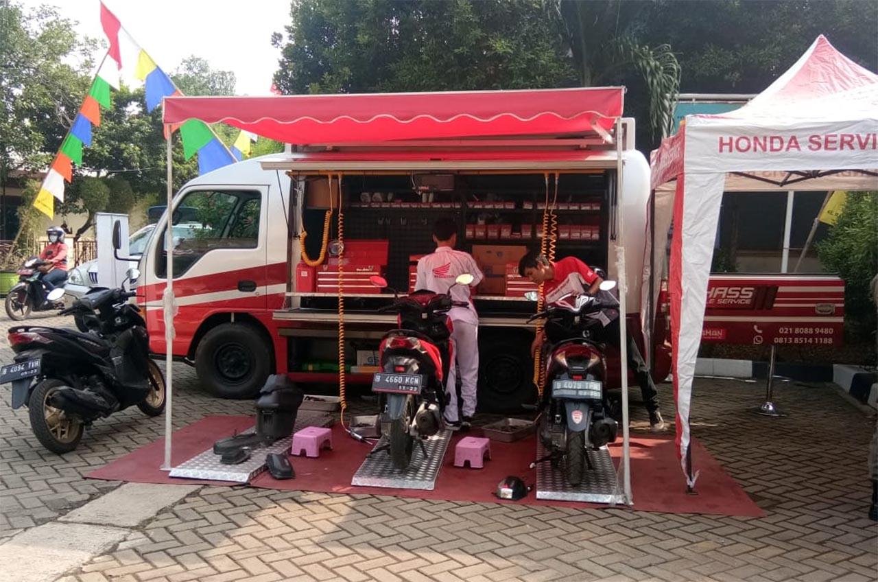 Jutaan Motor Honda Di 'Rawat' AHASS