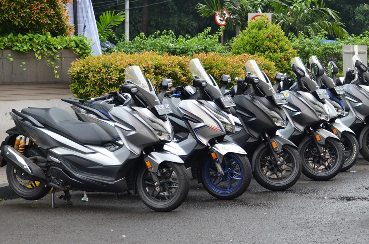 """ Sah "", Pecinta Honda Forza Resmi Jadi Komunitas"