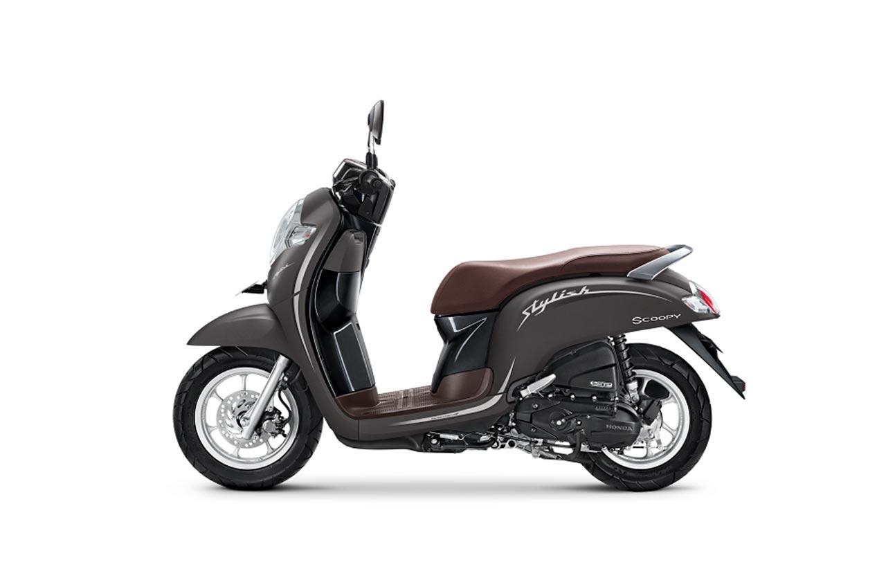 New Honda Scoopy Tampil Semakin Unik Dan Fashionable