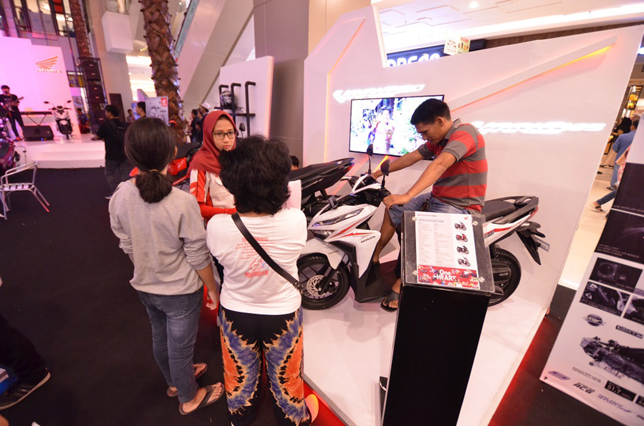 Tiga 'Jagoan' Matic Honda Sambagi Warga Tangerang