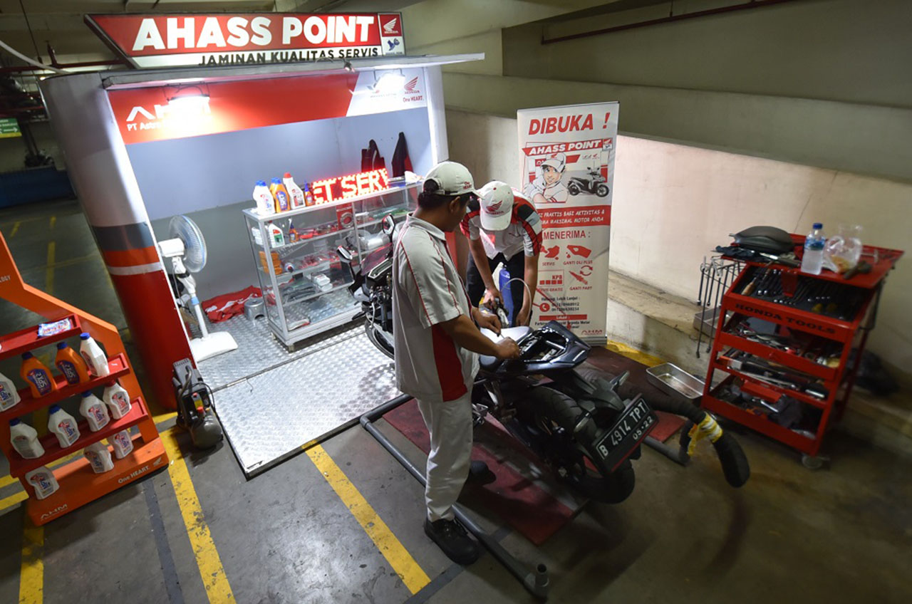 Demi Kepuasan, Honda Hadirkan Layanan After Sales Di Parkiran