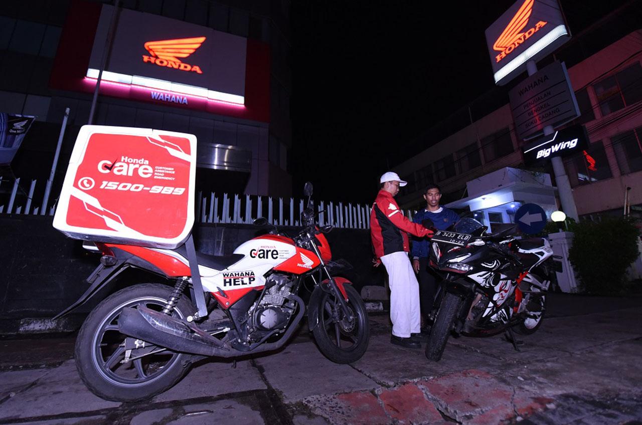 Spesial 24 Jam, Konsumen Honda Terjaga Layanan