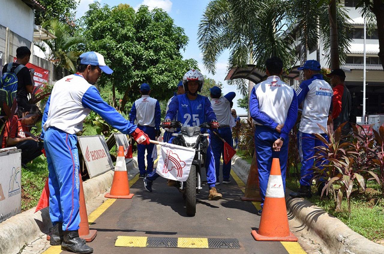 Komunitas 'Jawara'  Safety Riding Jakarta Siap Berlaga Di Nasional