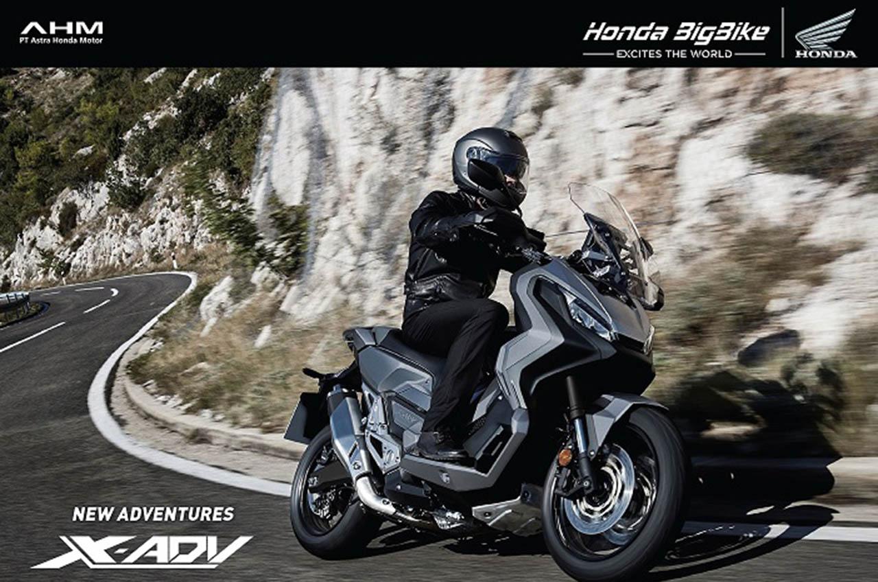 Big Bike Petualang Honda X-ADV Mulai Dipasarkan Di Indonesia
