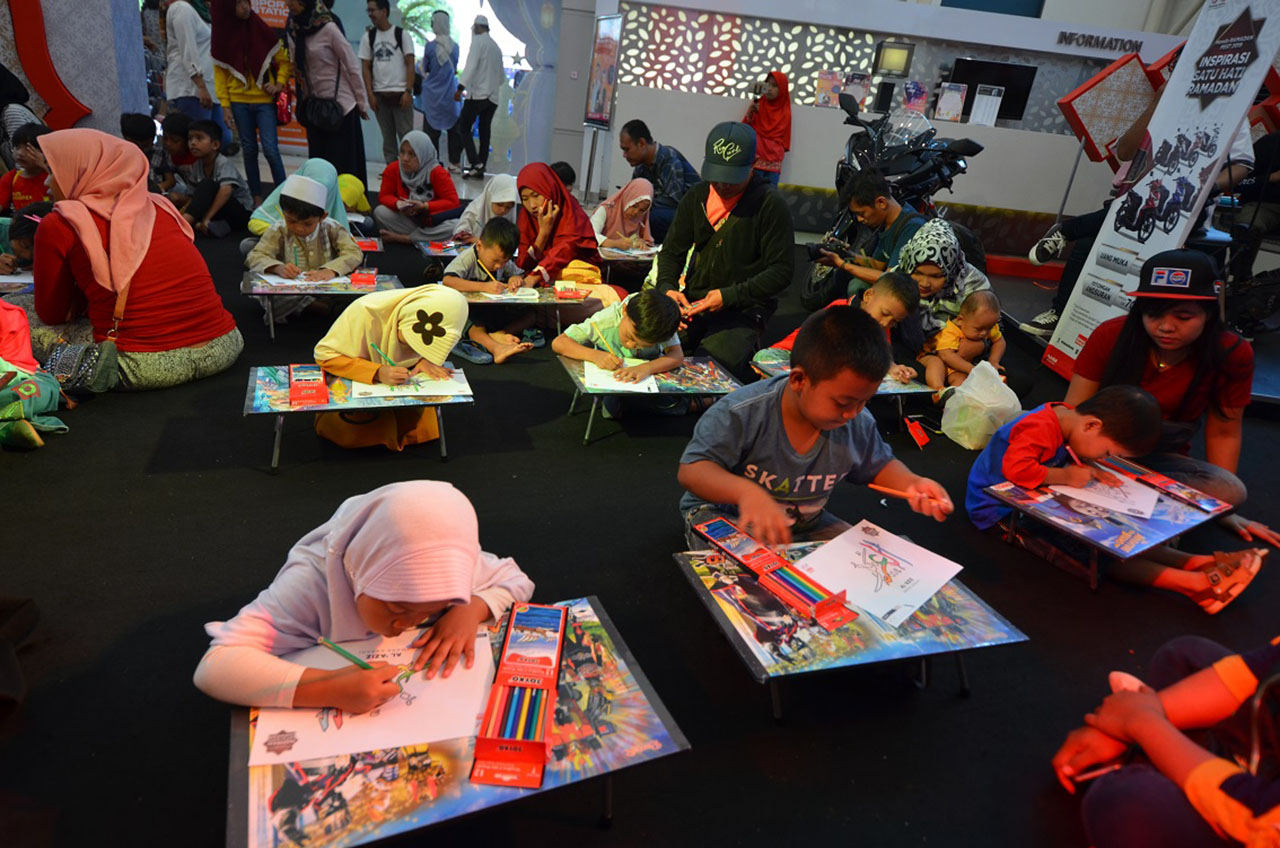 Wahana Gelar Honda Ramadan Fest - Kegiatan Positif Sambut Bulan Suci Ramadan