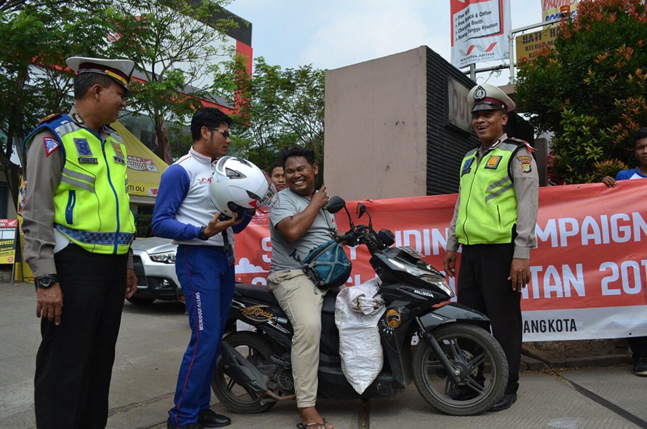 Wahana Rela Aksi Turun Jalan Demi Berkendara Aman