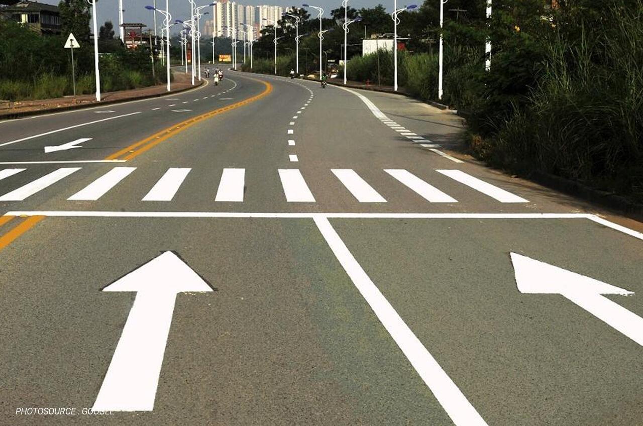 Kenali Jenis Jenis Marka Jalan Sebagai Pengemudi Motor