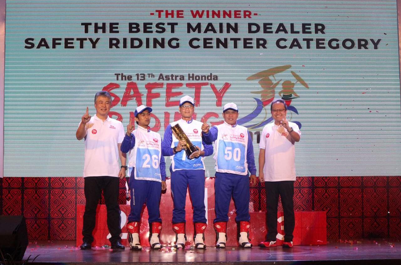 Menangnya Di Dua Kontes Honda Nasional 2019, Kado Manis' Di Usia 47 Tahun Wahana