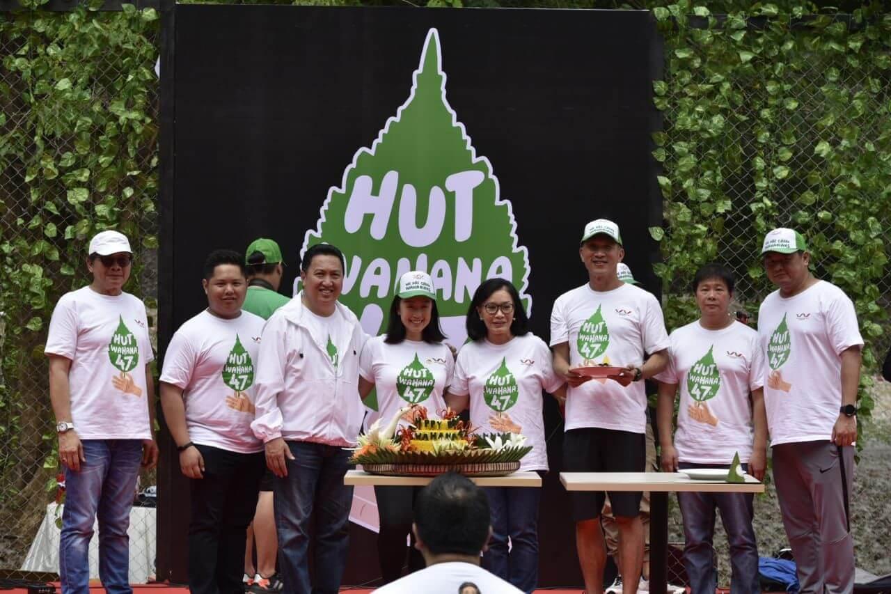 Perayaan HUT Ke 47, Wahana Ingin Lebih Peduli Lingkungan Dan Sesama