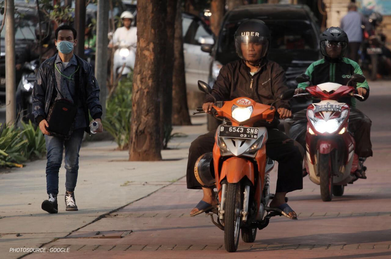 Cara Aman Berkendara Harian Dengan Sepeda Motor