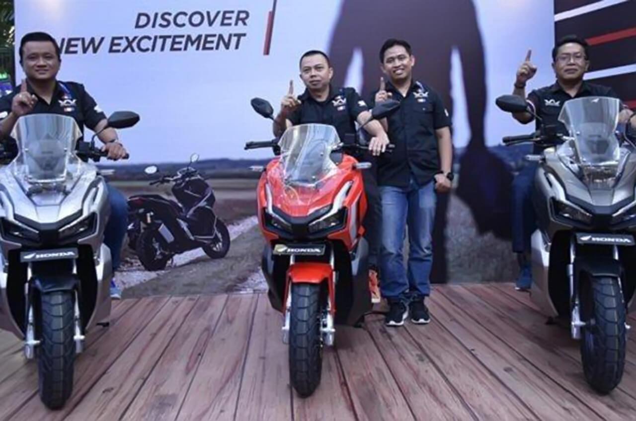 Terjual 3.000 Unit, Honda ADV150 Perkokoh Dominasi Wahana Kuasai Pasar Roda Dua Jakarta Tangerang