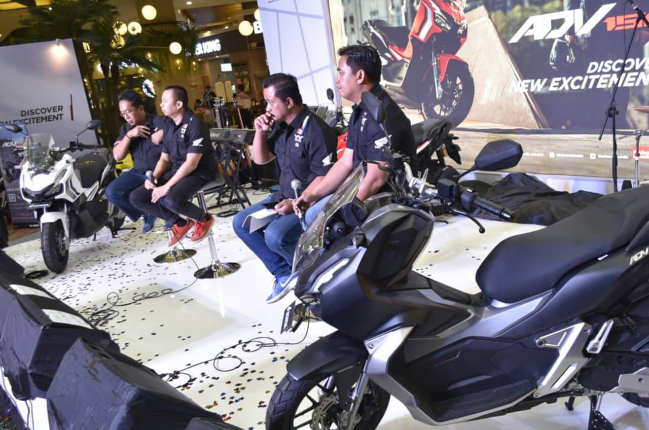Spesial, Warga Tangerang Jajal Skutik 'Gagah' Terbaru Honda