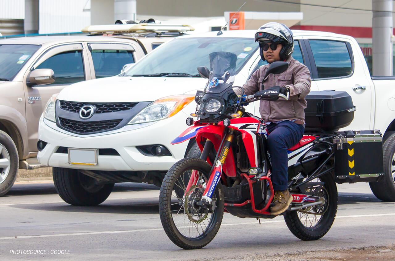 Tips Safety Riding Ini, Akan Membantu Mencegah Pemotor Terlibat Tabrakan Beruntun
