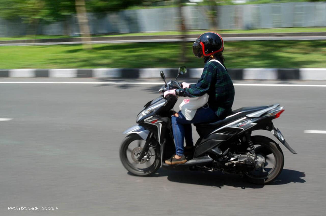 Berkendara Dengan Sepeda Motor, Ini Postur Tubuh Yang Harus Dicermati