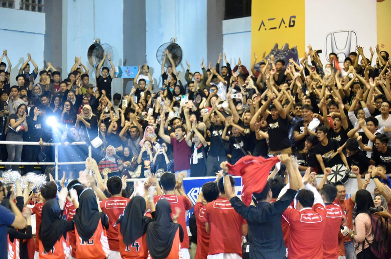 Ribuan Pelajar SMA Jadi Saksi Kontes Basket Bergengsi