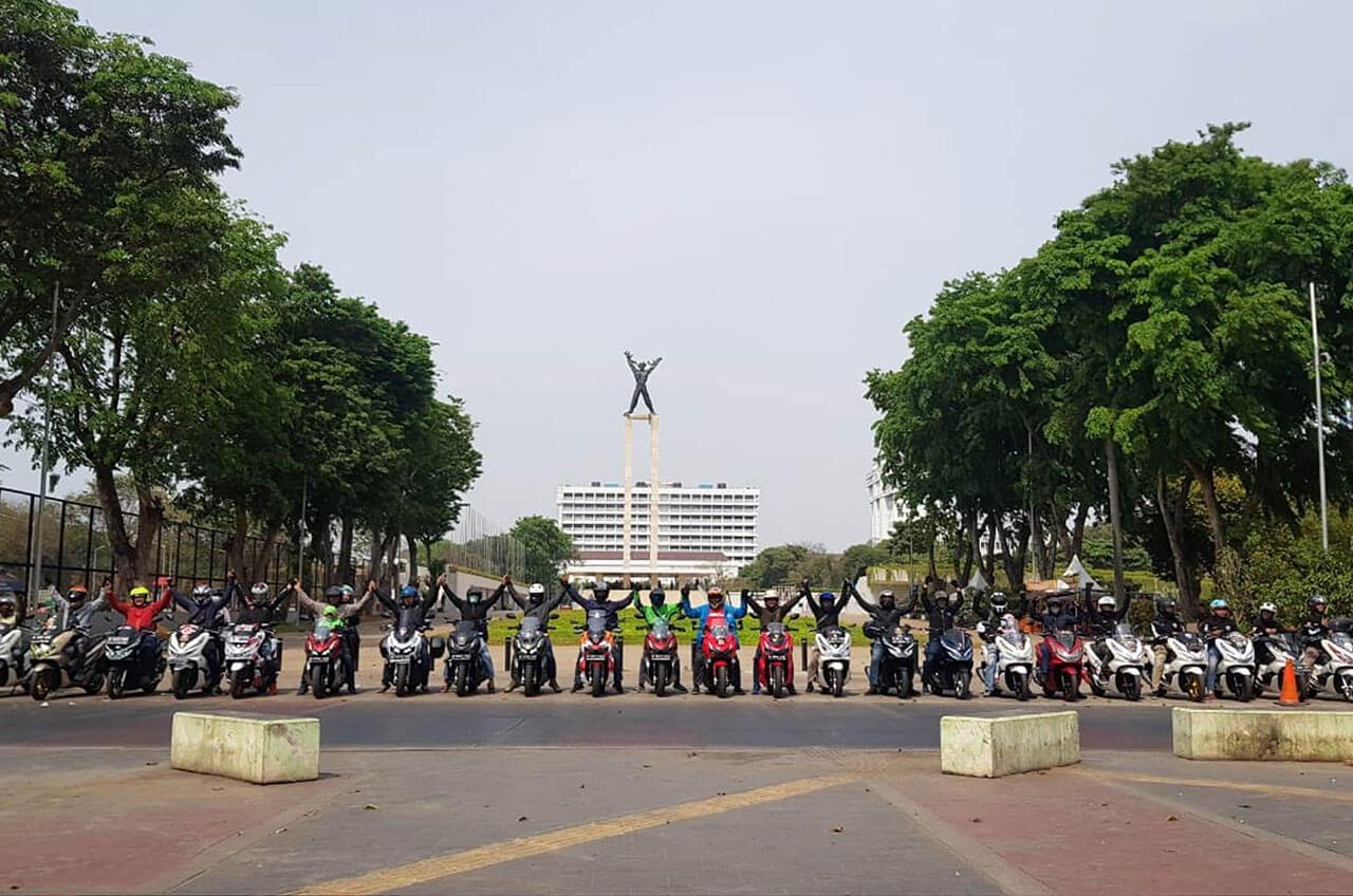 Belum Resmi, Pemilik ADV150 Jakarta Sering Kopdar