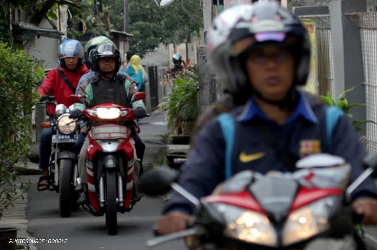 Tips Aman Menghindari Macet Dengan Sepeda Motor