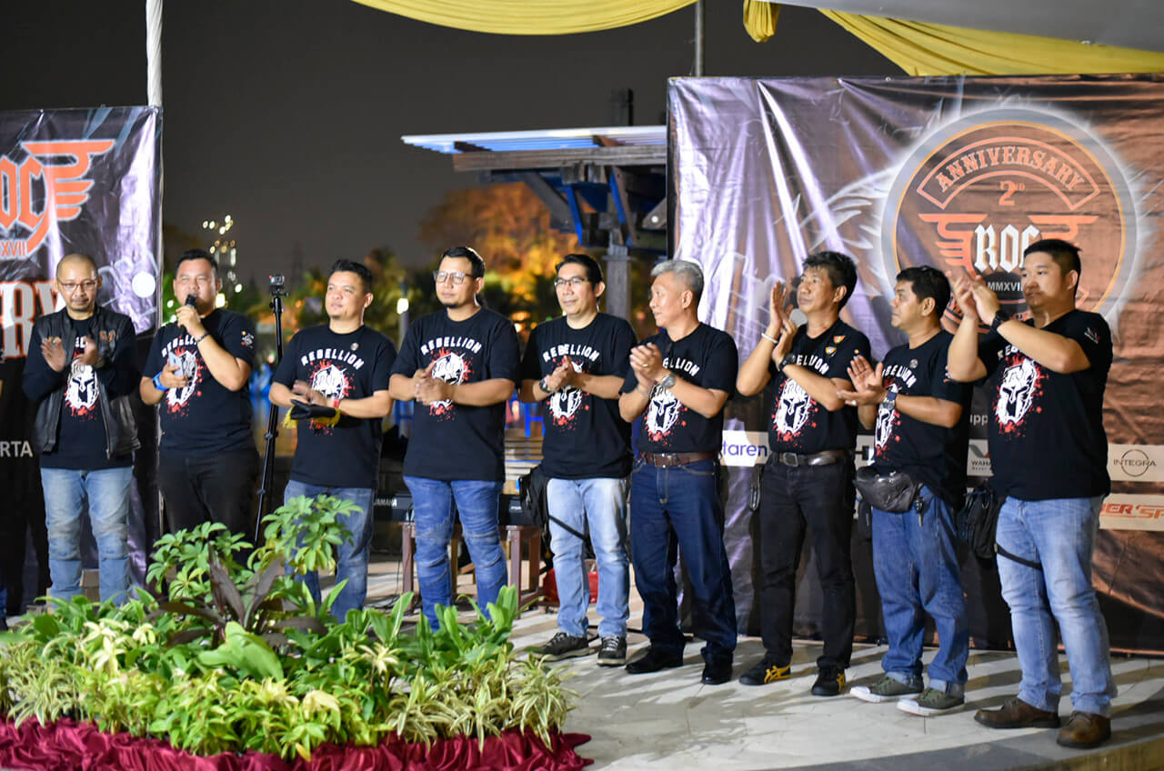 Soliditas, Jadi Hal Utama Di Hari Jadi Pemilik Rebel Ke 2