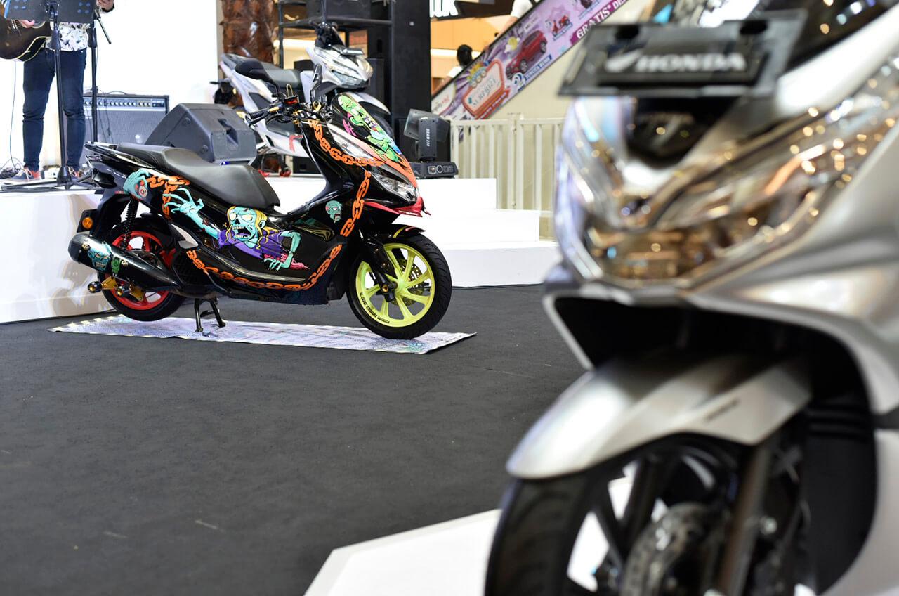 Skutik Honda Jadi Idola Masyarakat Tangerang