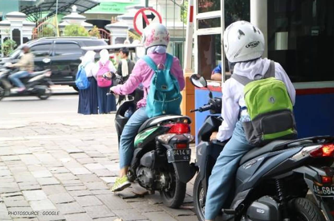 Tips Aman Berkendara Untuk Anak Sekolahan Dan Pelajar