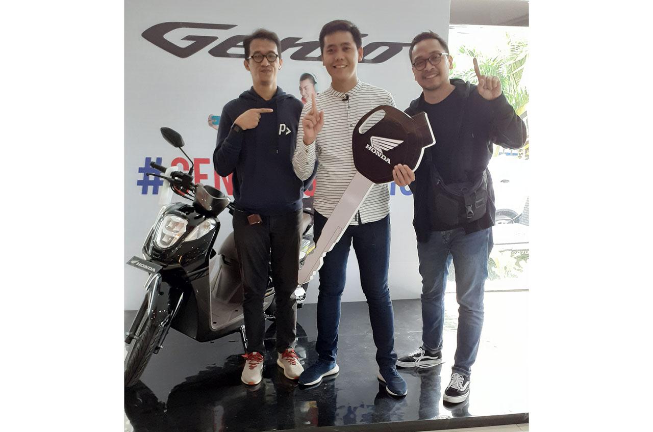 Tutup Tahun 2019, Wahana Tawarkan Honda Genio 5 Juta Rupiah