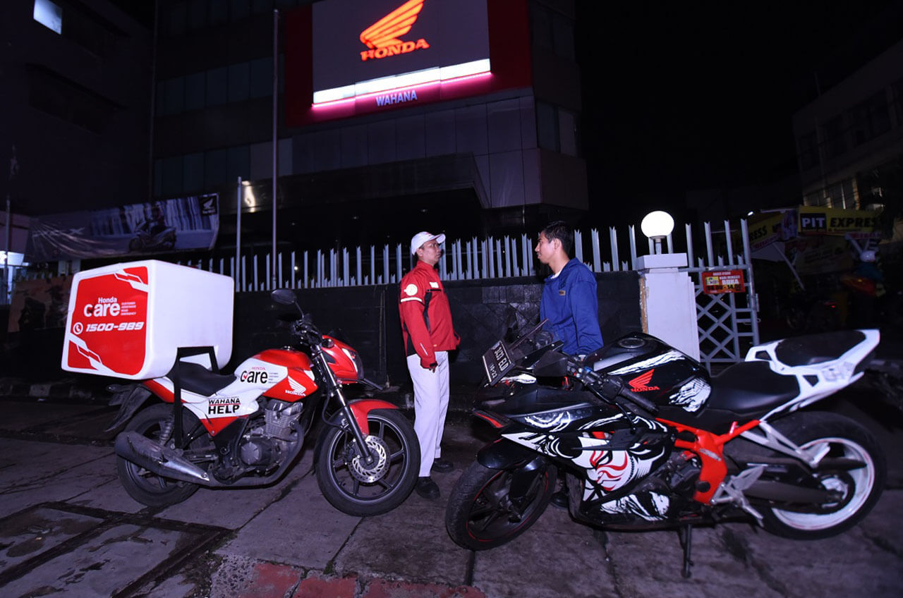 Wahana Honda, Siaga 24 Jam Libur Natal Dan Tahun Baru