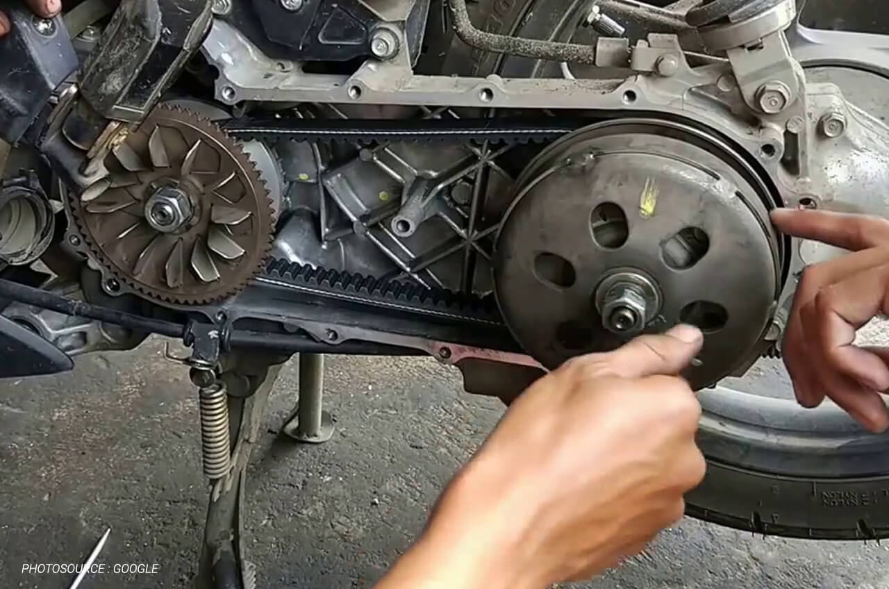Komponen Penting Pada Motor Matic Yang Perlu Diperhatikan