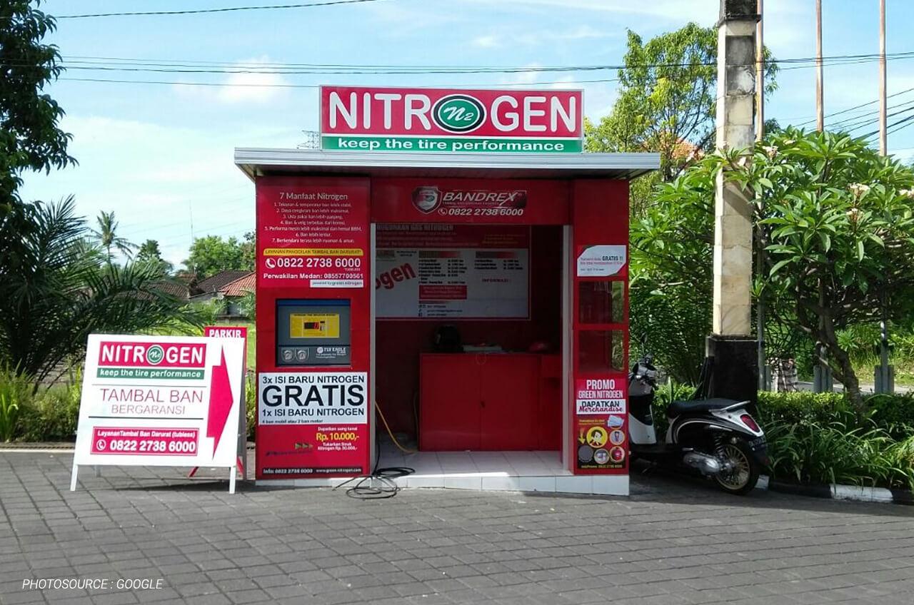 Nitrogen, Tingkatkan Performa Dan Ban Semakin Awet