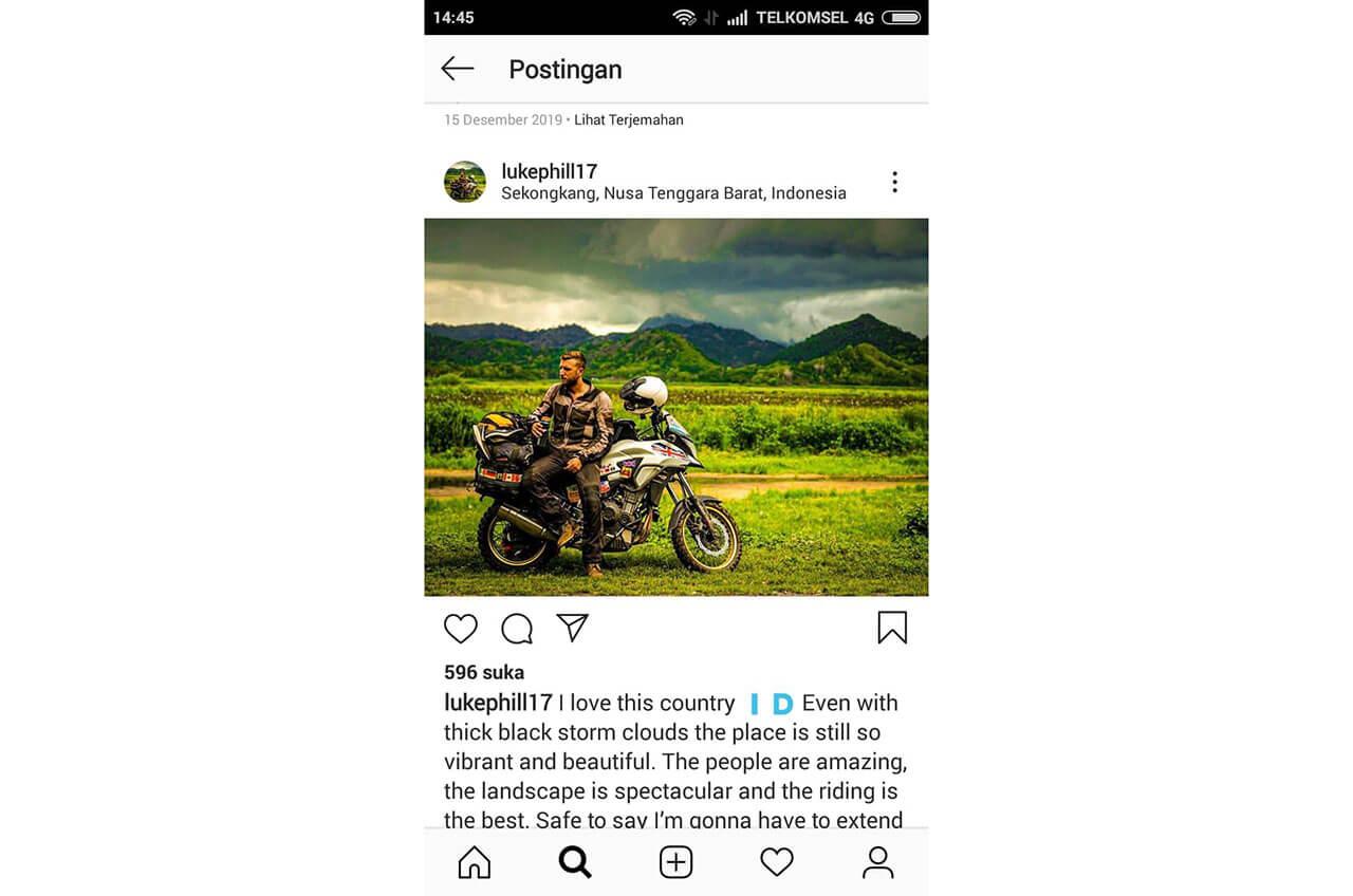 Rider Inggris Terkesima Dengan Indonesia Dan Layanan Wahana Honda