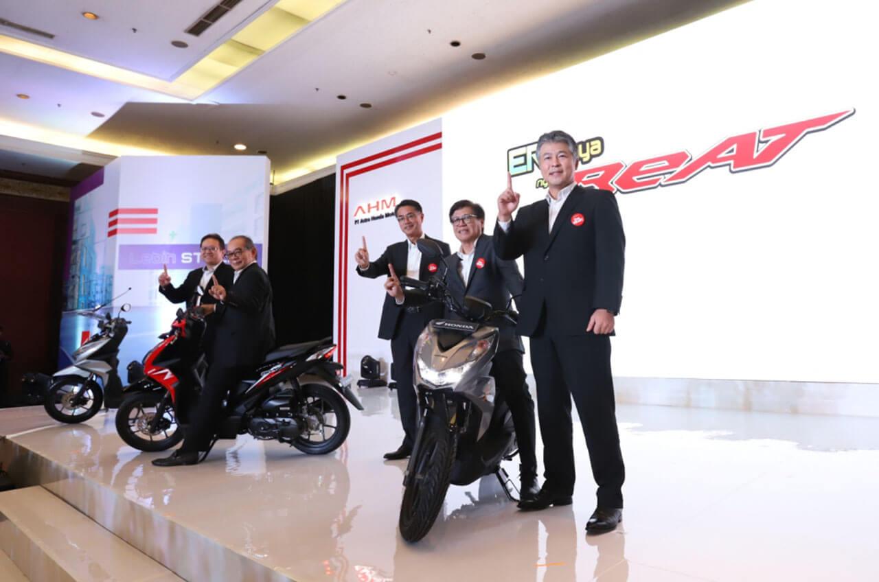 AHM Luncurkan All New Honda BeAT Series Dengan Berlimpah Teknologi Baru