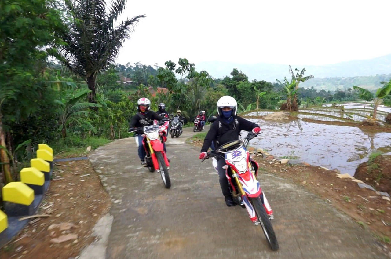 Awal Tahun, Komunitas Honda Main Motor Sambil Belajar
