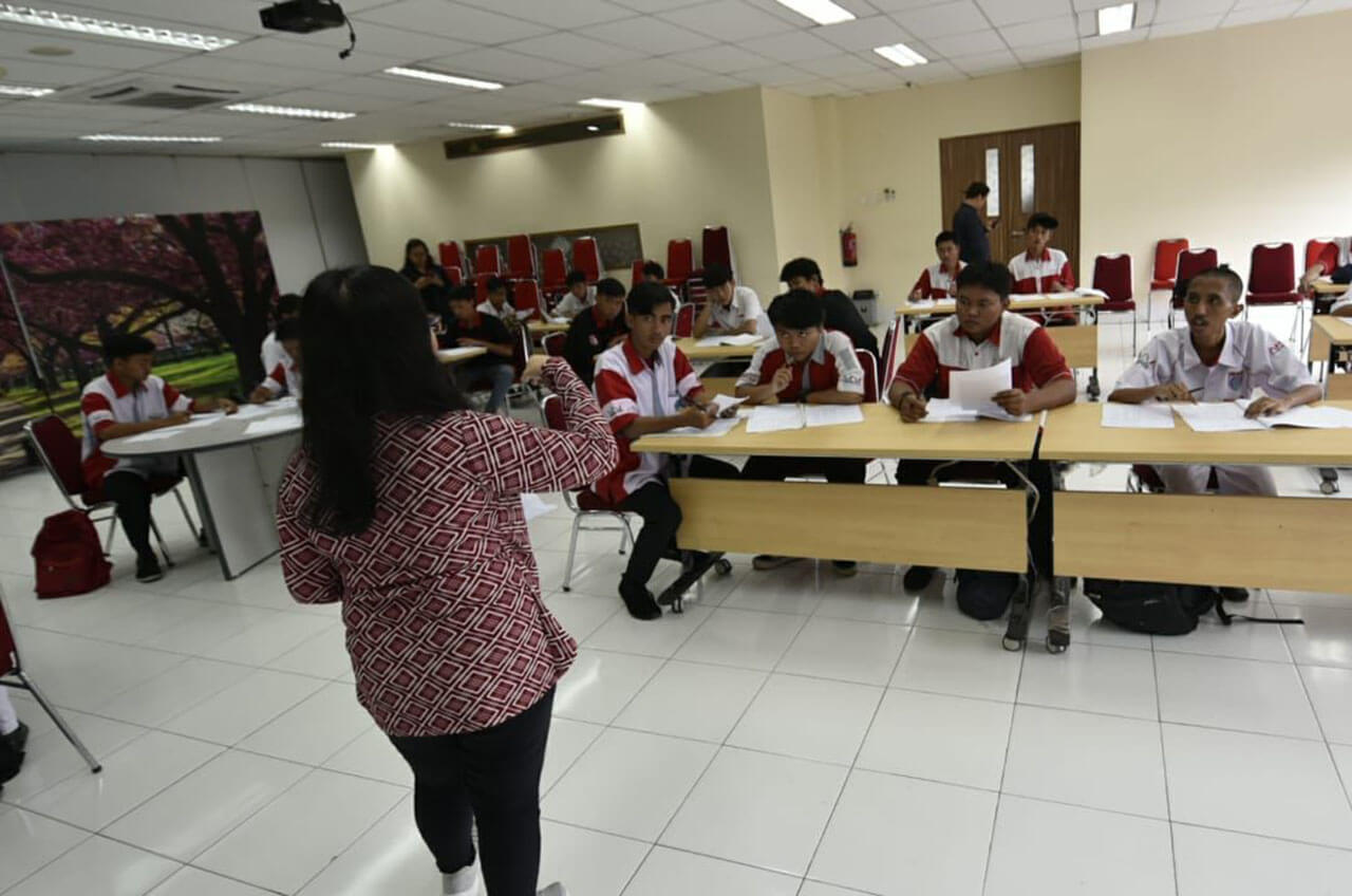 Wahana Siap Serap Lulusan SMK Binaan