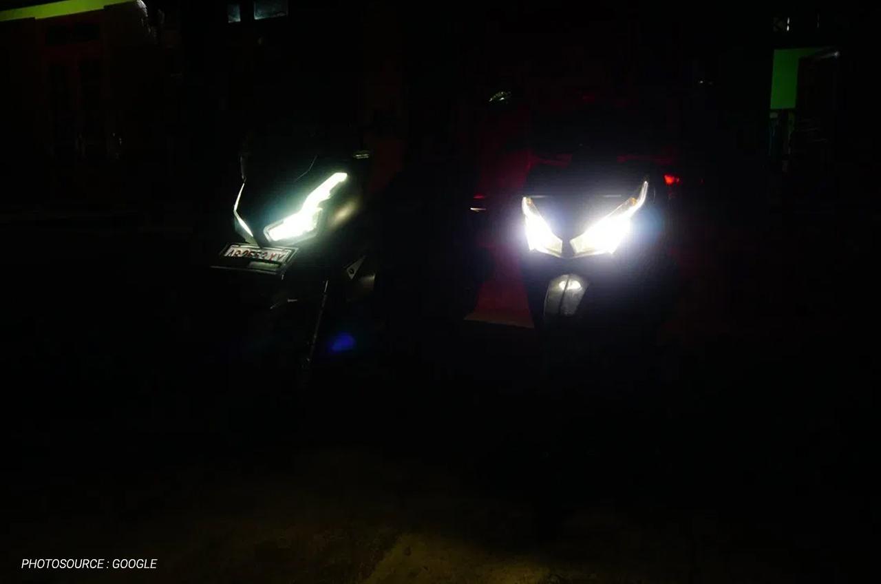 Sebenarnya, Apa Sih Fungsi Lampu Motor High Beam Atau Lampu Jauh?