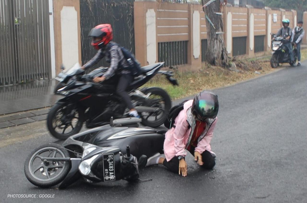 Pertolongan Pertama Setelah Jatuh Dari Motor Wahana Honda