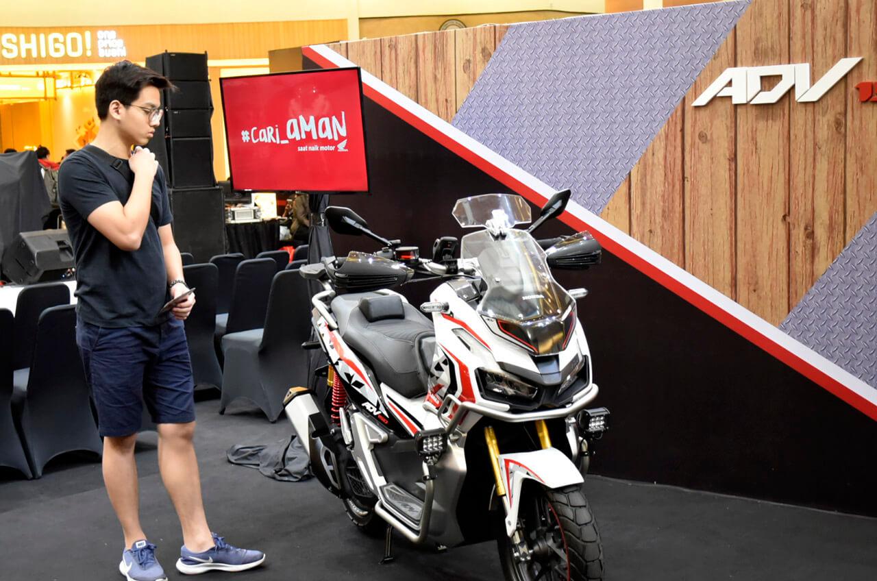 Wahana Wujudkan 'Mimpi' Konsumen Punya Skutik Premium