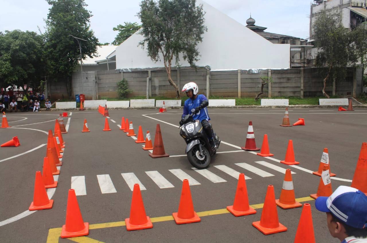 60 Siswa SMK Mau Jadi 'Jawara' Berkendara Aman